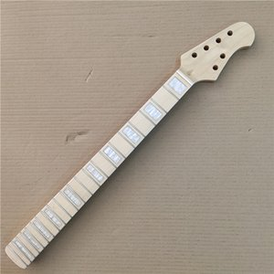 Maple Electric Guitar neck Replacement 22 frets maple Fingerboard Gloss 25.5 Inch