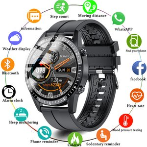 Smart Watch I9 Men Full Touch Round Screen Bluetooth Call Smartwatch Women Sports Fitness Waterproof Band