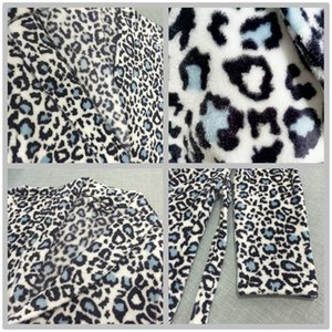 Fleece Robe Wholesale Bath 100% for Polyester Women Animal Leopard Print Bathrobe