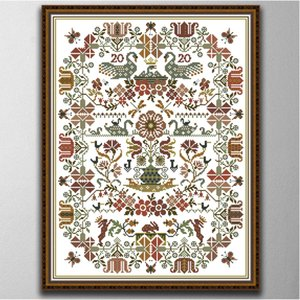 totem Handmade Cross Stitch Craft Tools Embroidery Needlework sets counted print on canvas DMC 14CT  11CT