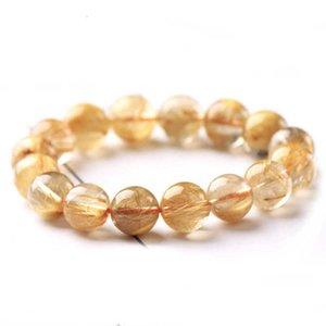 Dikai Jewelry Natural Gold Hair Single Ring Bracelet Diy