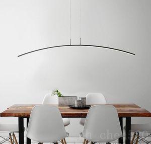 Modern Pendant Chandelier Lighting for Office Dining Living room Kitchen home decor Lustre LED light Black Chandelier
