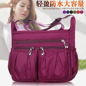 HBP Purse Waterproof Oxford cloth mother bag leisure backpack multi-layer nylon Single Shoulder Messenger Crossbody Bags Canvas Business Wallet Handbag 005