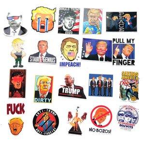 55PCS PACK funny Donald trump 2024 cartoon stickers decals Cute graffiti trump paster US President refrigerator trolley Guitar waterproof sticker decors G86VXMP