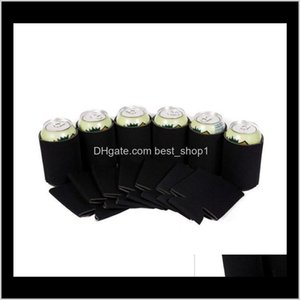Thermocoolers Can Cooler Beer Blank Soft Insulated Reusable Drink Coolies Personalized Sublimation Sleeves For Weddings Party M0Bql Ijroy