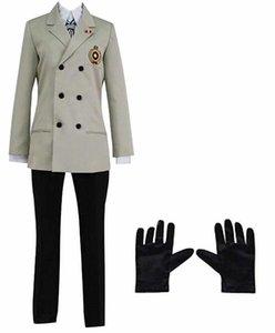 Persona 5 Goro Akechi Cosplay Costume School Uniform Halloween Suit