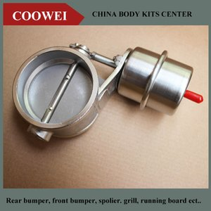 2.5''inch Stainless steel Variable Exhaust Control Valve Set Vacuum Actuator 63MM pipe closed