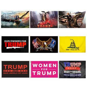 Trump Flags Election Women for Trump 3x5 Feet 100D Polyester 150x90cm Banner for Presidential Election Flags GWF10099