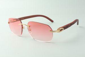 Direct sales designer sunglasses 3524024, tiger wooden temples glasses, size: 18-135 mm