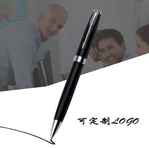 Black Liya Metal Signature Pen Office Gift Baozhu Can Be Used As An Enterprise