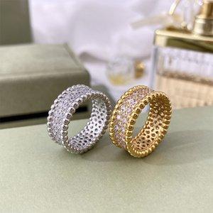 women Designer carti Rings Necklaces Screw Bracelet Van Party Wedding Couple Gift Love Bracelet Fashion Luxury Cleef Ring Bracelet with box asdfeasefgsedgdf