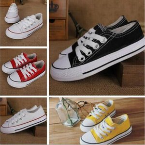 6 Colors All Size 23-35 High Low Top sports stars Classic Canvas Sneakers Shoe boys and girls