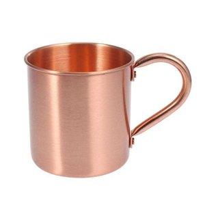 1 pcs Caneca de cobre Coppery Coppery Handcrafted Durável Mule Mule Caneca De Café para Bar Bebidas Festa Cozinha T191216