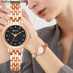 Rose Gold Qualities Women Bracelet Watches Full Stainless Steel Fashion Luxury Crystal Watch Small Ladies Quartz Wristwatches{category}25ZJ