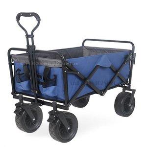 Bolsas de almacenamiento Camper al aire libre Supermercado Camtrolley Carrito plegable Minivan Minivan Fuerte carga de carga para compras para bebés Desmontable Lavable