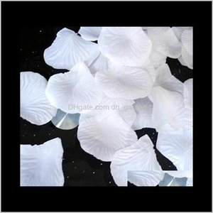Decorative Flowers Wreaths Festive Supplies Home & Garden Drop Delivery 2021 100Pcs  Bag Artificial Flower Rose Fake Petals For Valentine Wed