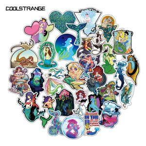 10 30 50Pcs Cartoon Sea Mermaid Stickers Toys For Children Motorcycles Skateboards Phones DIY Hand Diaries Scrapbooks Desk
