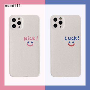 Ins simple smile face is suitable for Apple X XS mobile phone case iPhone 11 12 Pro   Max