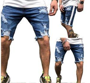 pantalones holggy pantalones Hombre de verano Holed jeans pantalones cortos de moda MEGUSTAS 'CAPRIS