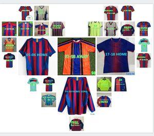 Retro Soccer Jersey 1991 1899 1992 1996 1997 1998 2004 2005 2006 2007 2008 2009 2010 2011 2012 Ronaldinho Xavi Football Shirt