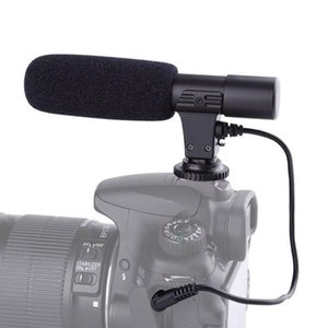 3.5mm Universal Microphone External Stereo Mic For Canon Nikon DSLR Camera DV Camcorder AS99 Microphones