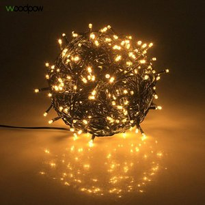 Woodpow 20M 30M Waterproof LED Fairy String Lights 24V EU US Outdoor Garland for Christmas Trees Xmas Party Wedding Decoration