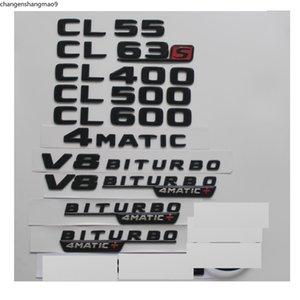 Gloss Black For Mercedes Benz C215 C216 Coupe CL55 CL63 CL65 AMG CL400 CL500 CL600 4MATIC Trunk Rear Star Emblems Badges Emblem