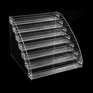 Nail Polish Display Organizer Manicure Cosmetics Jewelry Stand Holder Clear Acrylic Makeup Storage Box WJ604 Boxes & Bins