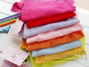 Clothes Spring Summer dog apparel Pet Polo Shirt Teddy