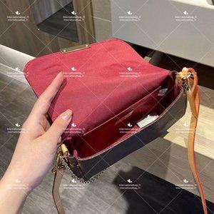 Designer classic mahjong bags fashion checkerboard plaid purse woman crossbody bag leather chain shoulderbag