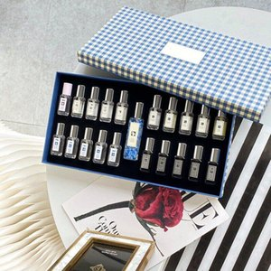 Perfumes Set Gift box 21 Perfume Samples for woman 20*9 ml+1*30ml Natural Fragrance Fast Delivery