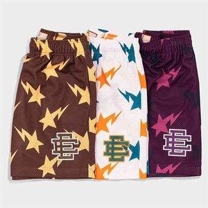 Eric Emanuel Ee Basic Short New York City Skyline Fitness Sweatpants Shorts Men's Summer Gym Workout Breathable Casual Basketball Pants 24ce