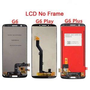 Paneles de teléfono celular LCD para Motorola Moto G6 G6Play G6Plus Pantalla Táctil Pantalla táctil Montaje digitalizador Reemplazo LCDS con marco