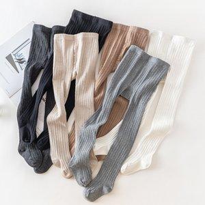15830 Autumn Children Knitted Cotton Pantyhose Kids Leggings Pantyhose Baby Render Pants