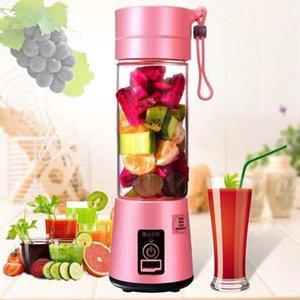 380ml Personal Blender Portable Mini Blender USB Juicer Cup Electric Juicers Bottle Fruit Vegetable Tools LLA613