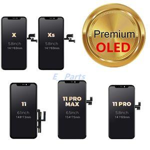 Paneles táctiles de telefonía celular LCD OLED PARA IPHONE X XS MAX 11 XR 11pro Muestra digitalizador de reemplazo de repuesto