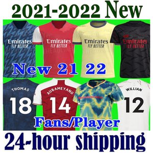 new season Arsen soccer jersey 2021 2022 Gunners ODEGAARD PEPE SAKA THOMAS WILLIAN TIERNEY 20 21 22 football shirts Men Kids