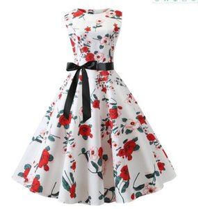 Ladies in summer wear pretty dresses with high waists