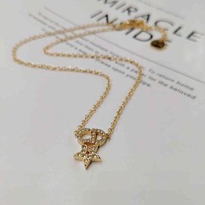 75% OFF Necklace classic D family Bracelet temperament Dijia CD letter Love luxury Star same U9C5