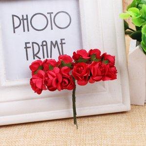 50 шт. 7/8 см 8 см Искусственная PE пена большие розы цветы Bridal Bridemaid букет свадьба свадьба украшения дома Scrapbook DIY Headflowers1 1144 v2