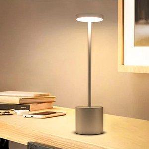 Table Lamps BEIAIDI Novelty Restaurant Cafe Bar Lamp Touch Sensor Rechargable Bedroom Bedside Reading Desk Led Night Light