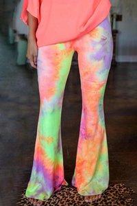 Высокая талия близочные брюки женские активные мягкие ножки для повседневных пробелов Pantalon Femme Streetwear