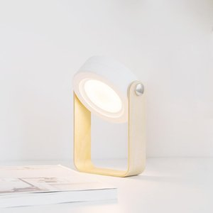 Table Lamps Uokobo Rechargeable Portable Folding LED Lantern Lamp,Operated Reading Light Lamp Outdoor Desk Cordless