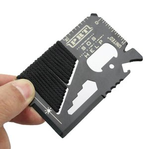 Multifunction Universal Outdoor Camping Survival hunting Military Credit Card SOS Pocket Army Knife Tools RBLT