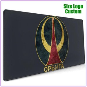 Mouse Pads & Wrist Rests CCCP Orbit V01 Personalized Led Extra Large Big Gaming Pad With Support Gel Alfombrilla Escritorio Pc Gamer Complet