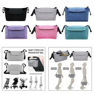 Universal Organizer Durable Line Storage Bag With Bottle Cup Holders Pocket Stroller Parts & Accessories