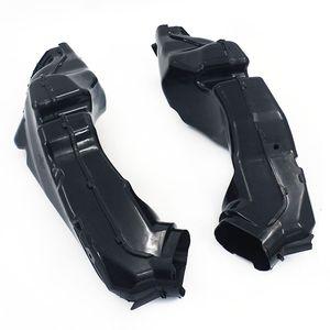 Набор крышек воздуховода воздуха набор для GSXR600 GSXR750 2011-16 мотоцикл ABS черный