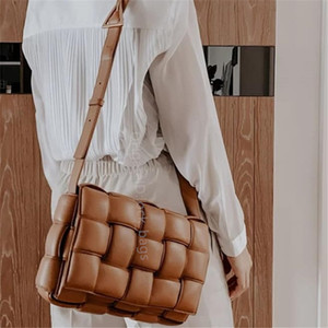 2021 Lady Knitting Fashion Handbags Shoulder Bags Totes Clutch Cross Body Famous Designer Caviar leather Purse Lady's Crossbody Quilted Flap Square Bag Crochet