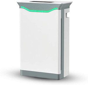 Ar Purificador 6 Camada HEPA Filtro Ultra Low Ruído Dormir Qualidade Monitor Apropriado Sala de estar Quarto Escritórios Purificadores