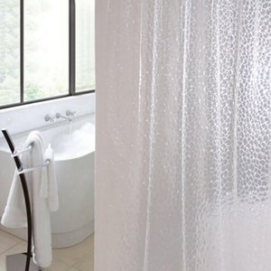Shower Curtains Waterproof Bathroom Curtain With 12 Hooks Ring Set Extra